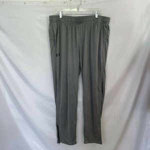Under Armour Warm Up  Mens Pants Loose Pockets 2XL